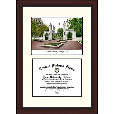 Campus Images NCAA Indiana University, Bloomington Legacy Scholar Diploma Picture Frame