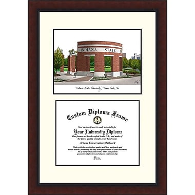 Campus Images NCAA Indiana State Legacy Scholar Diploma Picture Frame