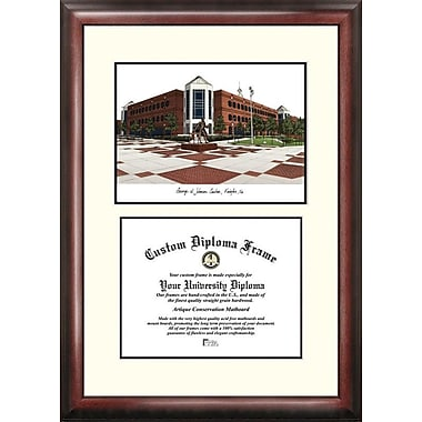 Campus Images NCAA George Mason University Scholar Diploma Picture Frame