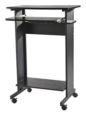HomCom Portable Standing Desk Staples