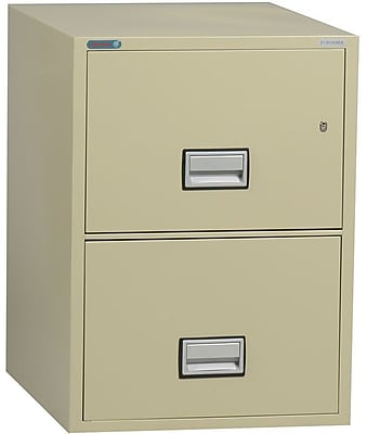 Phoenix Safe International 2-Drawer Vertical Filing Cabinet;