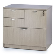 WIS Furniture Group 4-Drawer Combo Lateral File; Driftwood