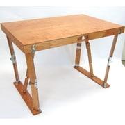 Spiderlegs Writing Desk; Warm Oak