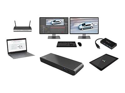 StarTech.com® Thunderbolt 3 Dual-4K Docking Station for Laptops