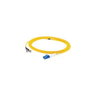 AddOn 7m LC (Male) to ST (Male) Yellow OS1 Duplex LSZH Single-Mode Fiber (SMF) Patch Cable