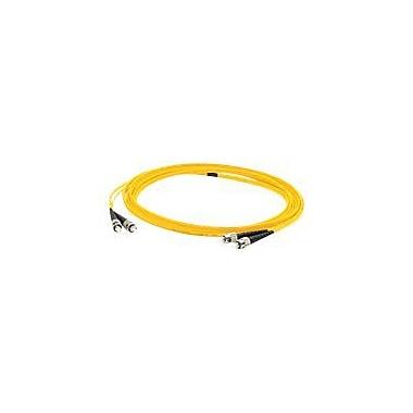 AddOn 7m Single-Mode fiber (SMF) Duplex ST/ST OS1 Yellow Patch Cable
