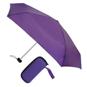 "Natico Traveler Umbrella 36"" Arc Purple (60-113-PR)"