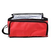 Natico Picnic Set Cooler Bag  6 Piece  Red (60-910-RD)