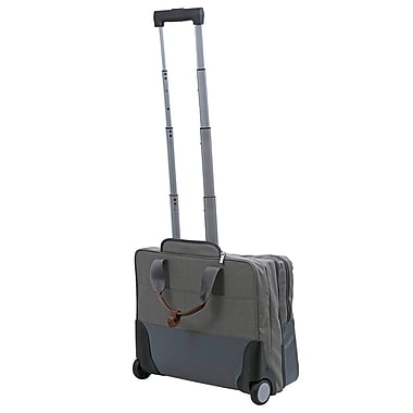 Natico Lifestyle Document Bag with Trolley Light Grey (60-CL05S)