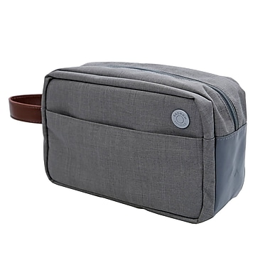 Natico Lifestyle Toiletry Bag Dopp Kit Light Grey (60-CL10S)
