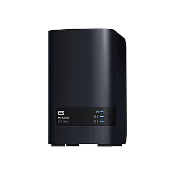 WD 16TB My Cloud EX2 Ultra Network Attached Storage, NAS (WDBVBZ0160JCH-NESN)