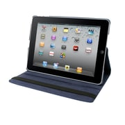 "Natico iPad Pro Faux Leather 360 Degrees Rotating Case 12.90""Navy Blue (60-IPRO-360-NBL)"