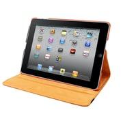 """Natico iPad Mini 4 Faux Leather 360 Degree Rotating Case 7.9"""" Orange (60-IM4-360-OR)"""