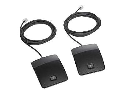 Cisco™ Wired Microphone Kit, Black (CP-MIC-WIRED-S=)