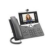 Cisco™ 8865 5 Lines Wall Mountable IP Phone, Black