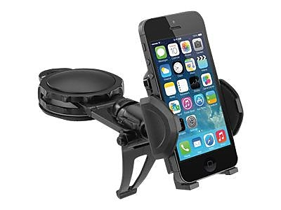Macally DMOUNT Fully Adjustable Car Dash Mount for Smartphones IM1VZ5688