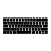 "Macally KBGUARDMBBK Keyboard Protector for 12"" Macbook, Black"