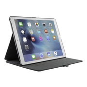 "Speck® 75761B565 StyleFolio Vegan Leather Carrying Case for 12.9"" Apple iPad Pro, Black/Slate Gray"