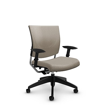 Global® (2739 MT20) Graphic Posture Chair, Match Desert Fabric, Tan