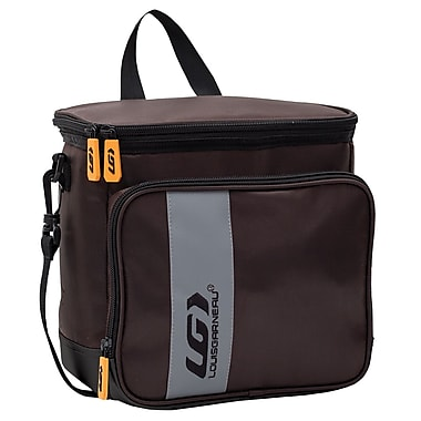 Louis Garneau Extreme Rectangular Lunch Box, Brown and Grey (E16305bn)
