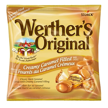 Werther's Original Creamy Caramel Filled, 12 pieces/135g, (329889-70)