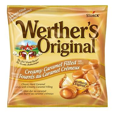 Werther's Original – Fourrés au caramel crémeux, 12 morceaux/135 g (329889-70)