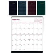 Brownline - Agenda mensuel de poche 2016/2017, 16 mois, 6 1/2 po x 3 1/2 po, anglais, couleurs variées