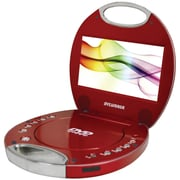 "Sylvania 7"" Portable DVD Players With Integrated Handle (red)"