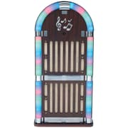 Sylvania Classic Wooden Jukebox AM/FM Radio With Bluetooth
