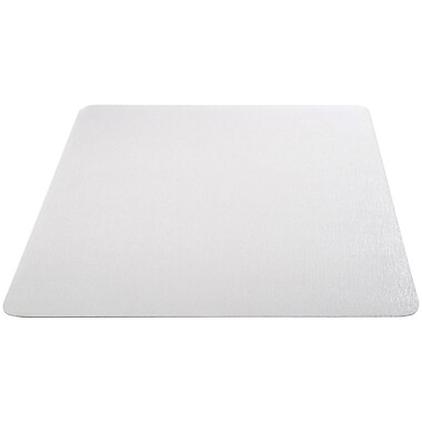 Deflecto Economat Vinyl Chair Mat for Hard Floor, Rectangular, 60
