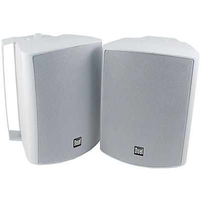 """Dual 5.25"""" 3-way Indoor/outdoor Speakers (white)"""