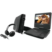 "Sylvania 7"" Swivel-screen Portable DVD Players (black)"