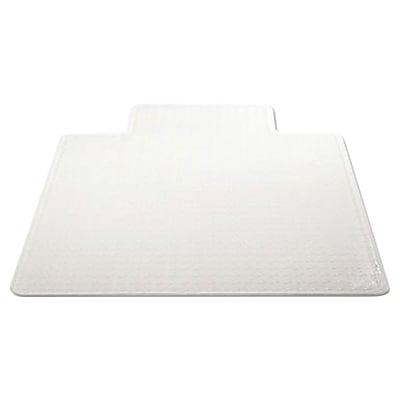 Deflecto 48''x36'' Vinyl Chair Mat for Carpet, Rectangular w/Lip (DEFCM13113COM)