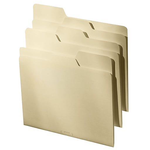 Find It®, All Tab File Folders, Letter, 9/Pack, Manila (FT07057)