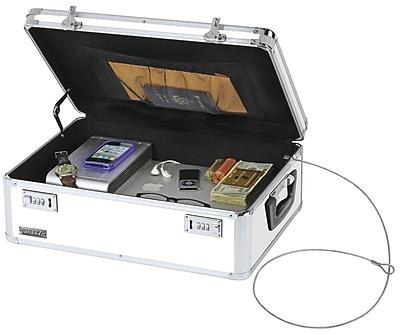 Vaultz® Locking Storage Chest, White (VZ00177)