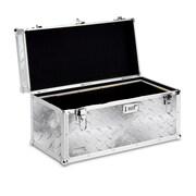 Vaultz® Locking Tool Box, Silver Treadplate (VZ00714)