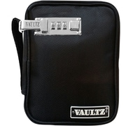 Vaultz® Locking Handheld Gaming Case, Black (VZ00758)