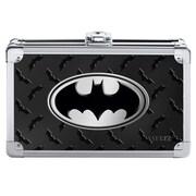 "Vaultz® Batman Pencil Box, 5.5"" x 8.25"" x 2.5"", Black (VZ00877)"