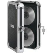 Vaultz® Locking CD Wallet, 48 CD Capacity, Black (VZ01137)