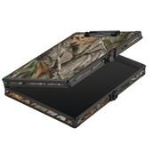 Vaultz – Planchette à pince avec rangement verrouillable, format lettre, camouflage (VZ03462)