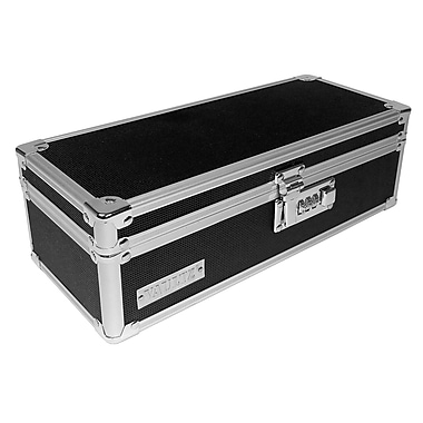 Vaultz Locking Pill Storage Box, Black (VZ03480)