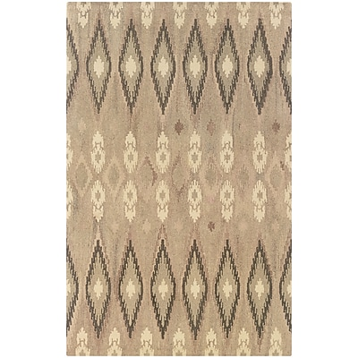 StyleHaven Transitional Ikat Wool 3'6