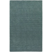 StyleHaven Transitional Solid Shag 100% Wool 8' X 10' Blue Area Rug (WANO271018X10L)