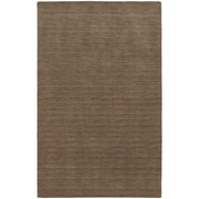 StyleHaven Transitional Solid Shag 100% Wool 8' X 10' Tan Area Rug (WANO271048X10L)