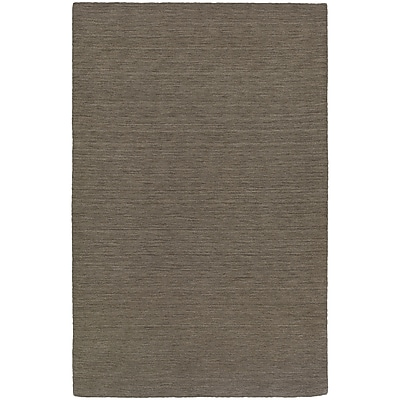 StyleHaven Transitional Solid Shag 100% Wool 6' X 9' Green Area Rug (WANO271056X9L)
