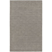 StyleHaven Transitional Solid Shag 100% Wool 8' X 10' Grey Area Rug (WANO271088X10L)