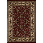 """StyleHaven Traditional Polypropylene 7'10"""" X 11' Red/Ivory Area Rug (WARI130/88X11L)"""