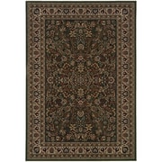 "StyleHaven Traditional Polypropylene 4'X 5'9"" Green/Ivory Area Rug (WARI213G84X6L)"