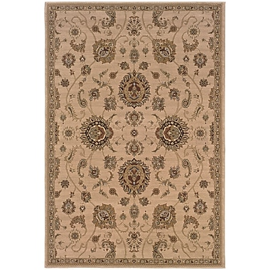 StyleHaven Traditional Floral Polypropylene 4'X 5'9