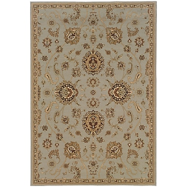 StyleHaven Traditional Floral Polypropylene 6'7
